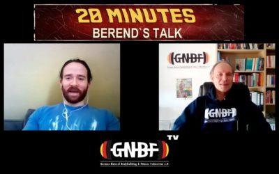 20 Minutes – Berend`s Talk mit Nicolas Rojas